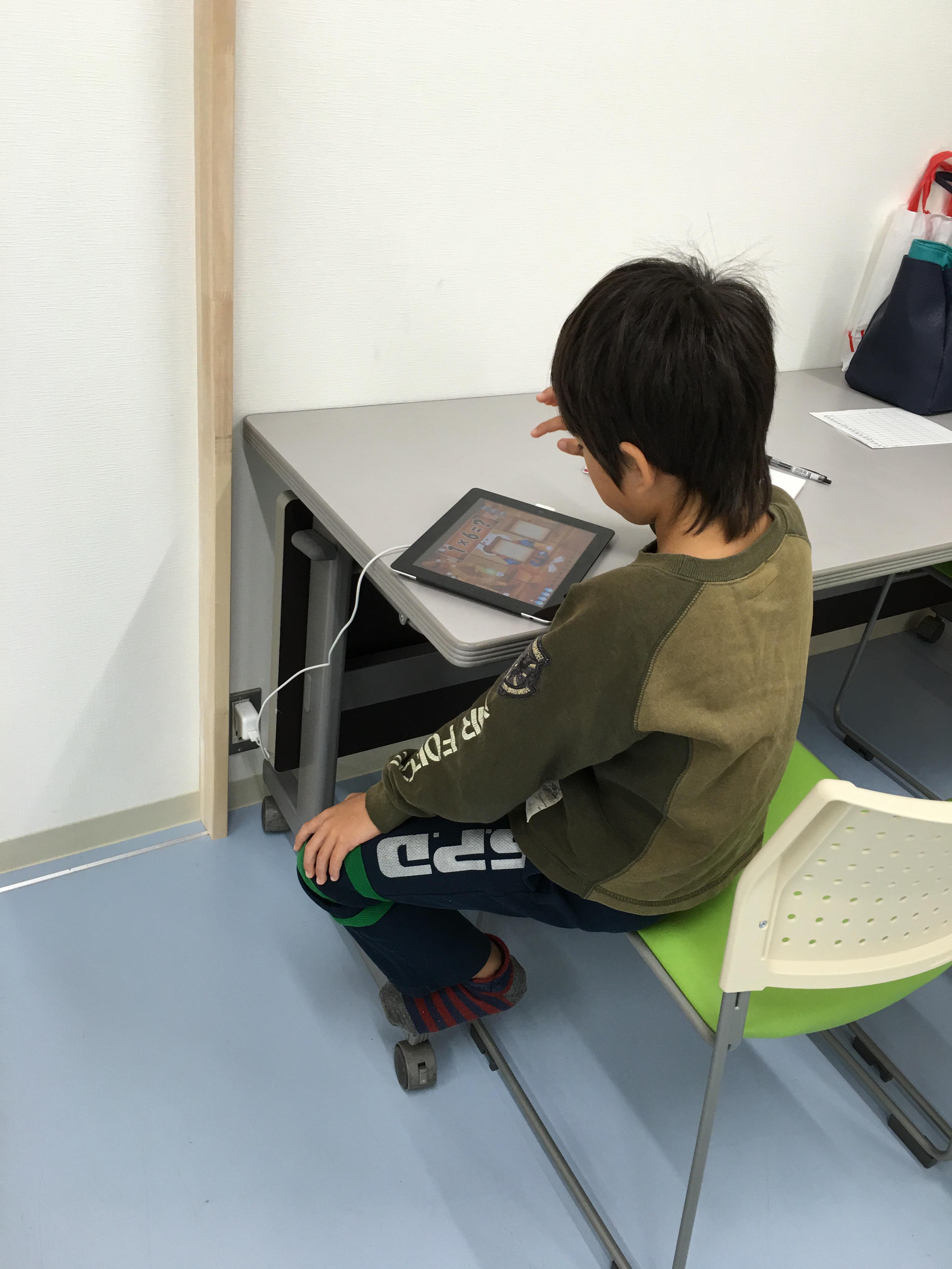 松代福祉寮で学習支援活動