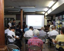 松代まちづくり研究会8月例会 「子どもの貧困と学習支援について」講演