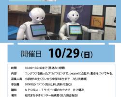 プログラミング生募集!!