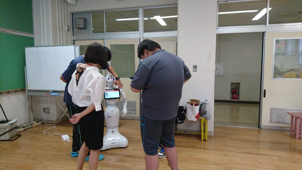 東京都立白鷺特別支援学校の授業見学に行きました
