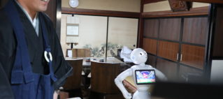 寺小屋にてPepper教室開催